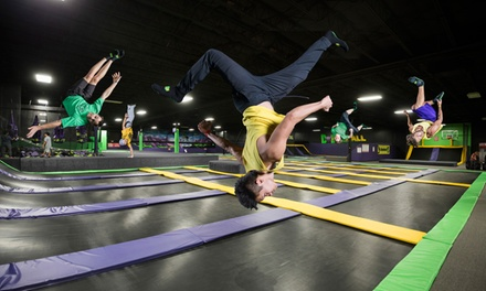 Two or Four Two-Hour Jump Passes, or Flippin' Awesome Party at Get Air (Up to 40% Off)