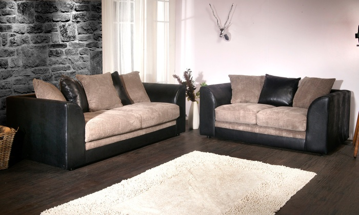 hudson sofa collection groupon goods. Black Bedroom Furniture Sets. Home Design Ideas
