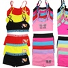 Girls' Seamless Cami Bra and Boyshort Set (12-Piece)