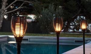 Lot de 2, 4 ou 8 lampes solaires imitation flambeau Lumisky