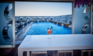 Coco On Eight at Media One Hotel: Pool Access with Up to AED 200 Towards Food and Soft Drinks for Up to Four at Coco On Eight, Media One Hotel (38% Off)