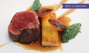 Galvin at Centurion Club: Chateaubriand Meal with Prosecco for Two at Galvin at Centurion Club by Michelin Awarded Chefs (44% Off)