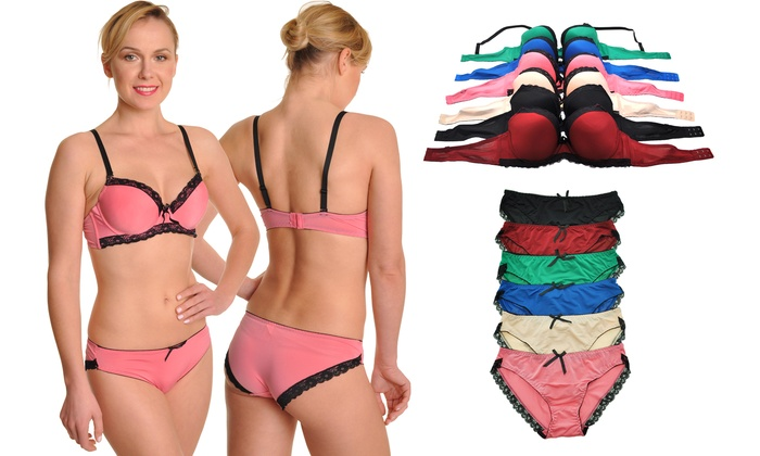 Angelina Bras or Matching Panties (6-Pack)