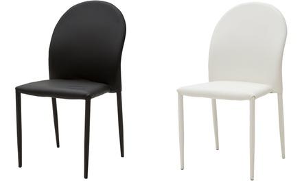 Set di 4 sedie