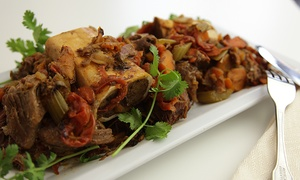 Sabz and Olive: $24 for Two Mediterranean Fusion Entrees and One Appetizer at Sabz and Olive ($39.55 Value)