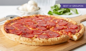 Pizza Factory: Pizza and Italian Food at Pizza Factory (Up to 38% Off). Two Options Available.