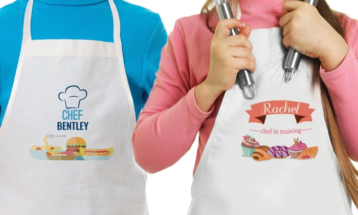 3270d99baaed Up to 86% Off Custom Kids' Aprons from Monogram Online