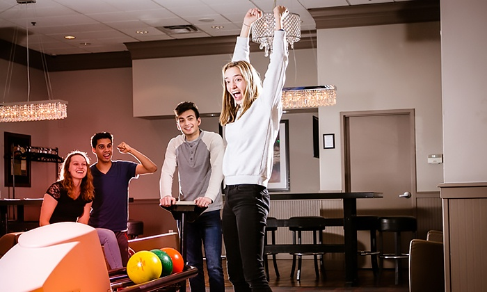 Pinheads - Fishers: Bowling for Up to 6 with Optional Shoe Rental, or Bowling Suite for Up to 25 at Pinheads (Up to 69% Off)