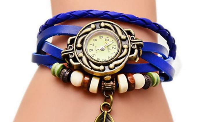 Orologio con cinturino avvolgibile