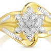 Genuine Diamond Accent Ring