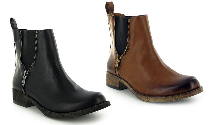 Groupon Goods Global GmbH: Women's Rocket Dog Camilla Chelsea Boots in  Choice of Colour ...