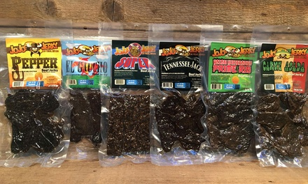 Jerky, Rubs, and Sauces at JoJo's Jerky (Up to 31% Off). Three Options Available.