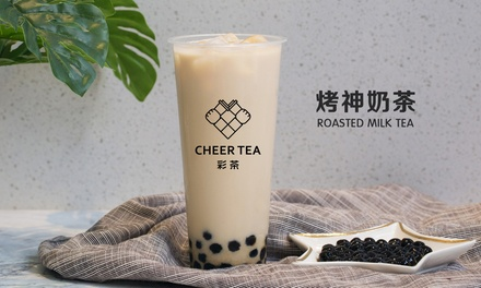 .99 for Milk, Fruit or Cheese Foam Tea at Cheer Tea Up to $15 Value