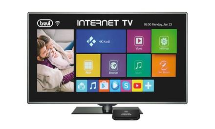 Smart TV internet box 4K Android Trevi con 2GB di RAM Quad Core Bluetooth con spedizione gratuita