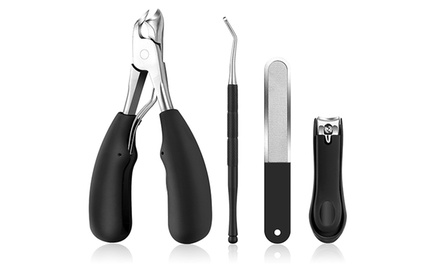Four-Piece Thick Nail Care Kit