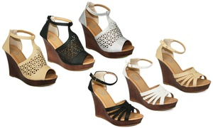 Emma Women's Fashion Wedges. Multiple Styles Available