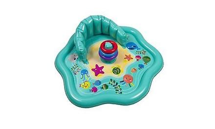 Baby Splash Mat with Stacking Rings