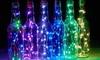 Set da 6 o 12 strisce di luci a LED per bottiglie