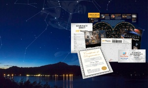 Starregister: 39 zł: gwiazda ze spersonalizowanym certyfikatem, fotoksiążką, Atlasem Świata i więcej z Starregister