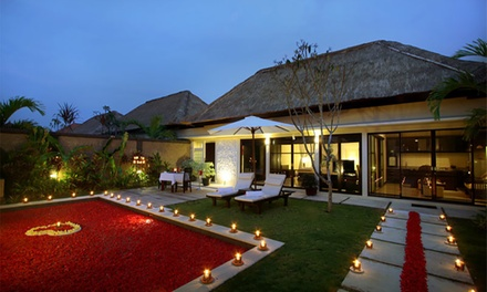 Seminyak: 2 to 7Night Pool Villa Stay for Two People with Breakfast at the 4* Bali Rich Villas Seminyak