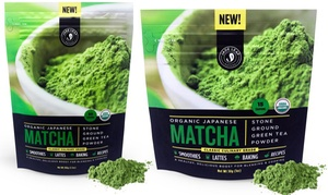 Jade Leaf Organics Organic Japanese Matcha Green Tea Powder