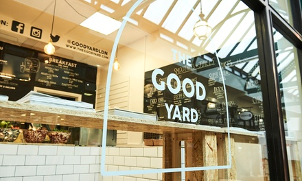 Salad Box or Wrap and Smoothie at The Good Yard, Liverpool Street (Up to 52% Off)