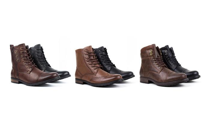 Harrison Men's Combat Boots