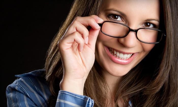Pro-Optix Eye Care - Sugarland: $69 for an Eye Exam and $210 Toward Prescription Glasses at Pro-Optix Eye Care ($369 Value)