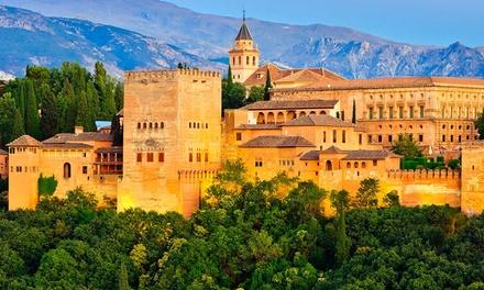 Granada: estancia para 2 con desayuno, late check-out y acceso a zona de aguas y gimnasio en Hotel abba Granada 4*