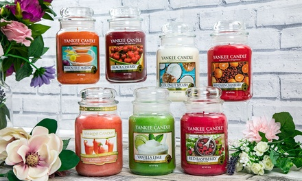 1 o 2 Yankee Candle disponibili in diverse fragranze