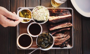 Barbecue Dinner or Lunch at C. Frogs BBQ Steak Whiskey (Up to 53% Off)