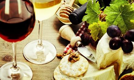 Käseplatte und je 1 Glas Wein für Zwei im QUCHNIA - Kaffee, Brot, Kultur für 24,90 €