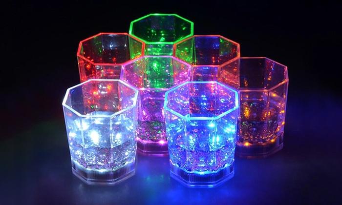 Bicchieri da cocktail con led