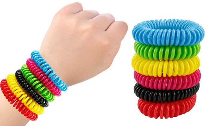 Four or Eight Mosquito Repellent Spiral Bands  from £3.50