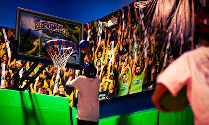 Rebounderz Orlando - Outer Limitz Trampoline Arena: $28 for Four One-Hour Indoor-Trampoline Jump Sessions at Rebounderz Orlando ($56 Value)