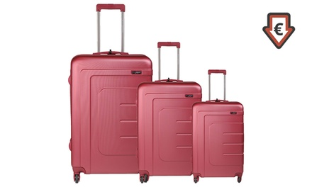 Déstockage: Set 3 valises ABS Bill Tornade