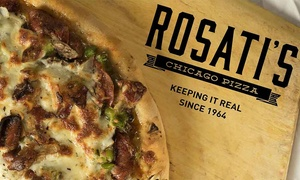Rosati's Pizza: Pizza at Rosati's Pizza (Up to 49% Off). Two Options Available.