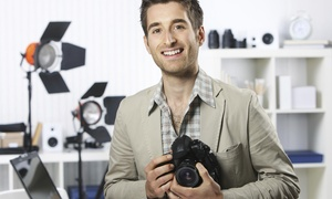 Winter Society Photography: 60-Minute Studio Photo Shoot with Digital Images from Winter Society Photography (70% Off)