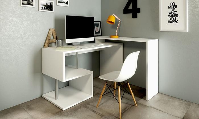 scrivania angolare trend groupon goods