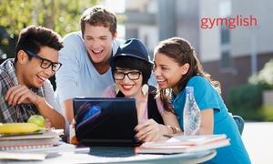 Gymglish: 6, 12 oder 24 Monate Online-Training für Englisch, optional mit Betreuung und Diplom, bei Gymglish (bis zu 38% sparen*)