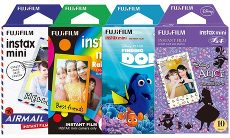 Fujifilm Instax Film Pack for Instant Print Mini Cameras (10-, 20-, 30-Pack)