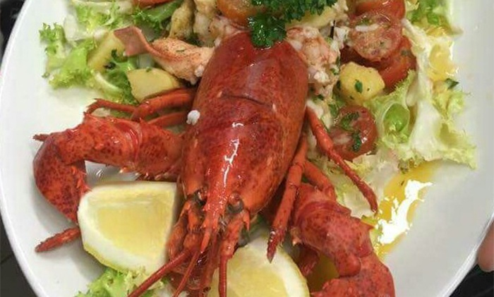 Menu di pesce con antipasto, primo, secondo più bottiglia di vino per 2 persone al Ciak Si Mangia (sconto fino a 61%)
