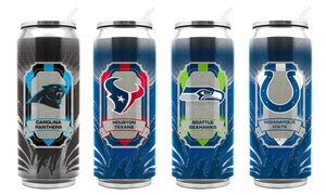 NFL Insulated Thermo Cans (11 or 16.9 Fl. Oz.)