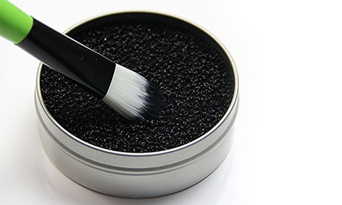 Make Up Brush Cleaner Sponge Livingsocial