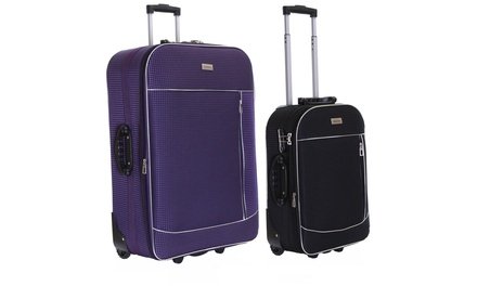 One or Two Slimbridge Rennes Expandable Suitcases in Choice of Size