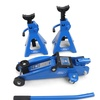 Ford Tools 2-Ton Trolley-Jack Set with Jack Stands (3-Piece)