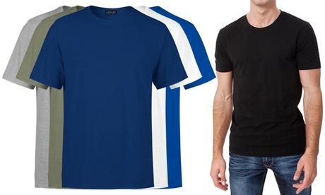 1 o 3 camisetas básicas para hombre