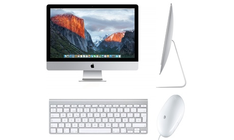 Apple iMac 21.5'' Slim Quad Core i5 8GB de RAM y 1TB de disco duro reacondicionado (envío gratuito)