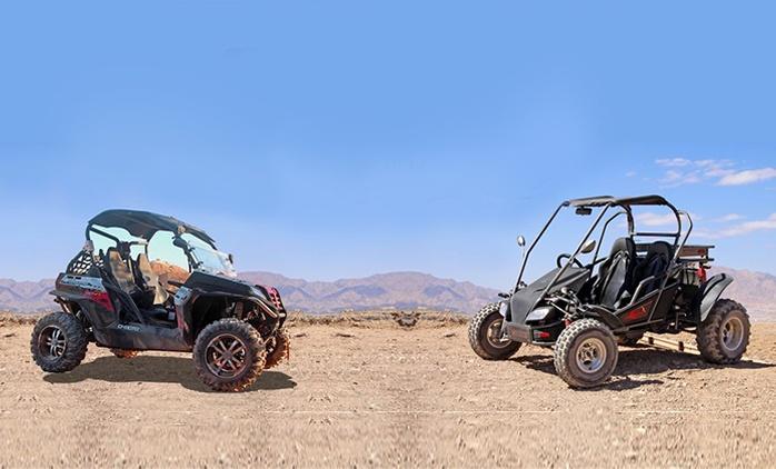 נהיגת שטח זוגית בבאגי בסביבות אילת הכוללת תמונות סטילס ב-225 ₪. נהיגה שטח ב-RZR מקצועי עם go pro ב-349 ₪