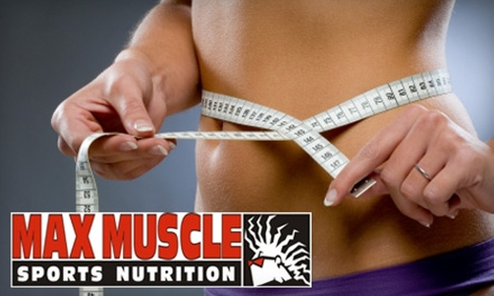 Max Muscle Sports Nutrition - Lexington-Fayette: $50 for Three Body-Composition Assessments at Max Muscle Sports Nutrition ($105 Value)
